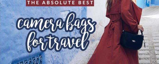 Since I've been getting more serious about photography, it means carrying more gear. Here are my picks for the best camera bags for travel!