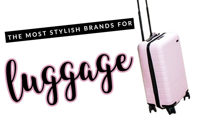 Over the years, I've had a LOT of experience with suitcases and packing. Here are picks for the most stylish luggage for travel.
