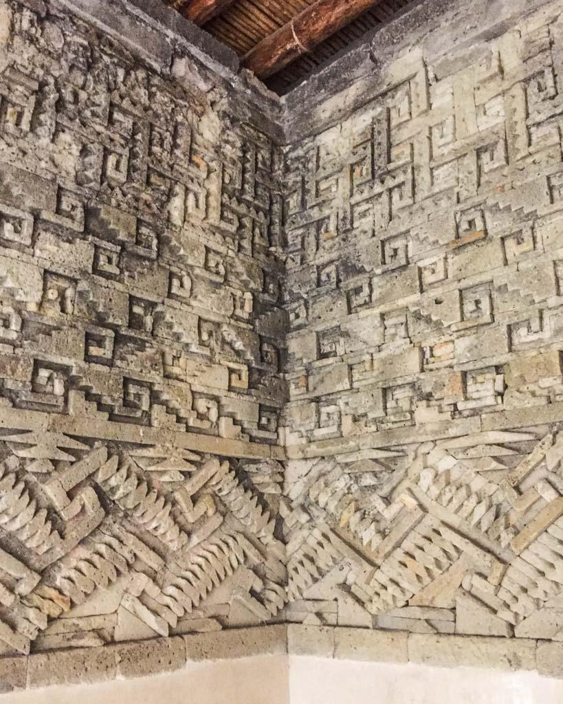 mitla carvings oaxaca