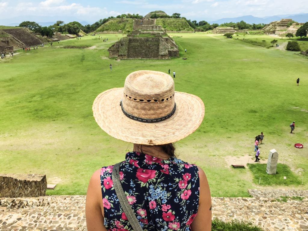 view at monte alban
