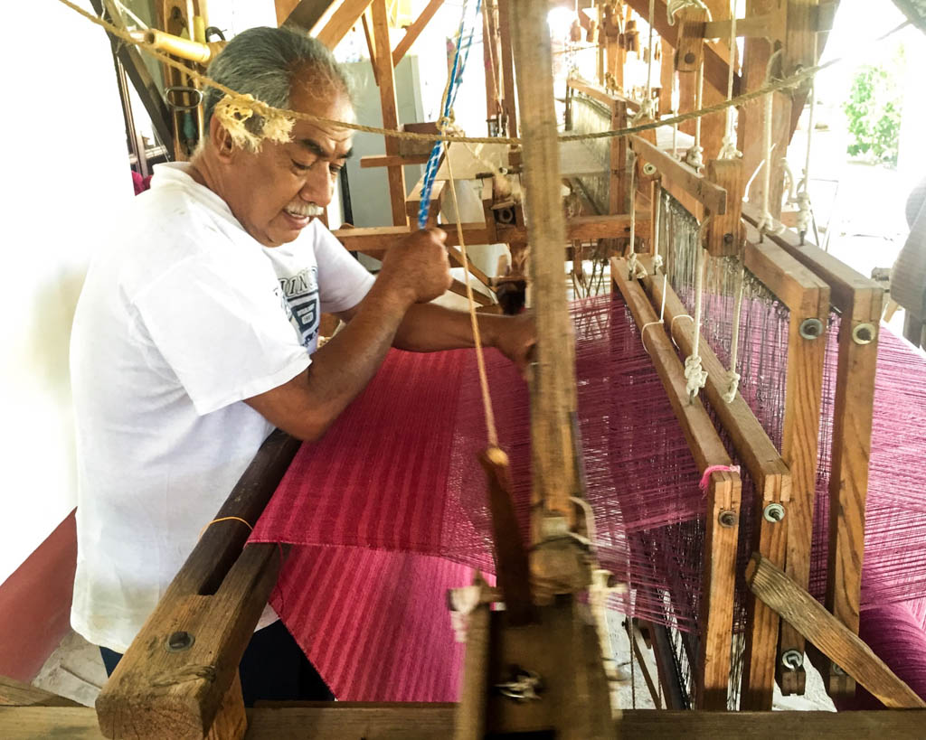 wooden loom oaxaca
