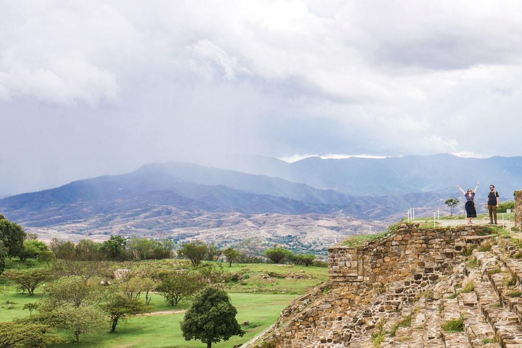 mountain views oaxaca valley