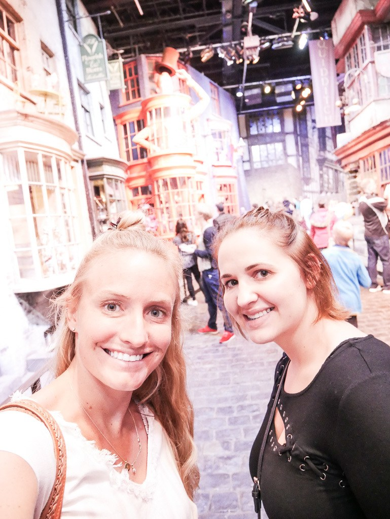 Touring the WB Studio, Behind the Scenes at Harry Potter