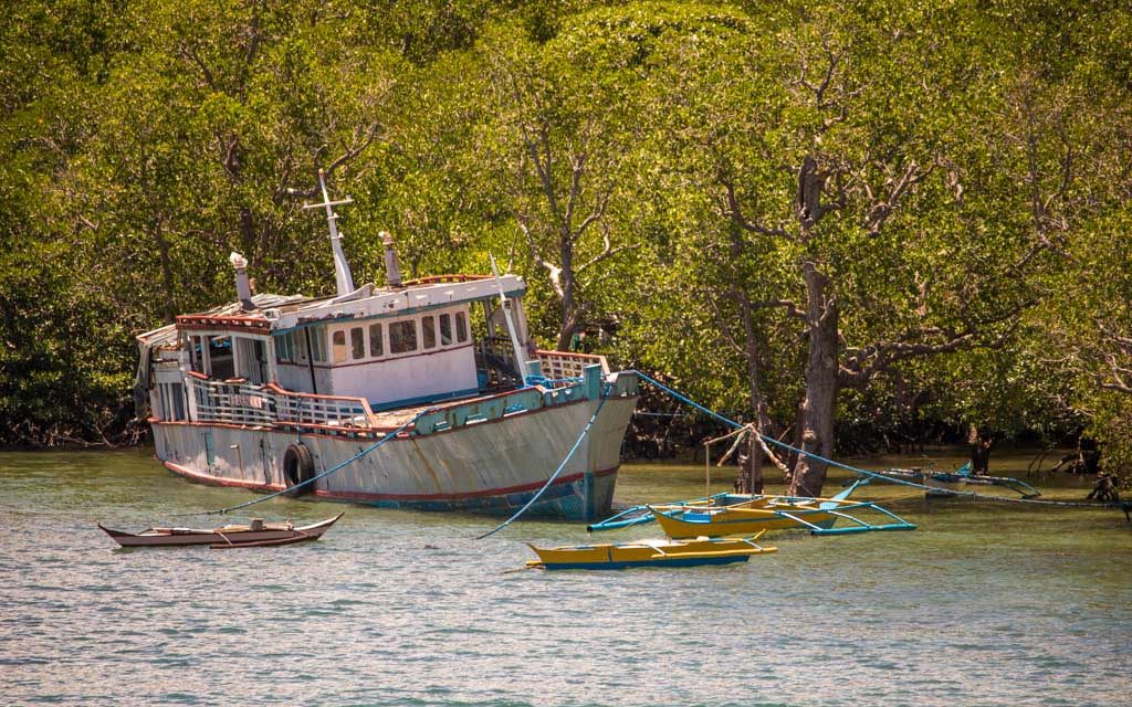 Ferries are a popular means of transportation in between islands - travel expenses in southeast asia