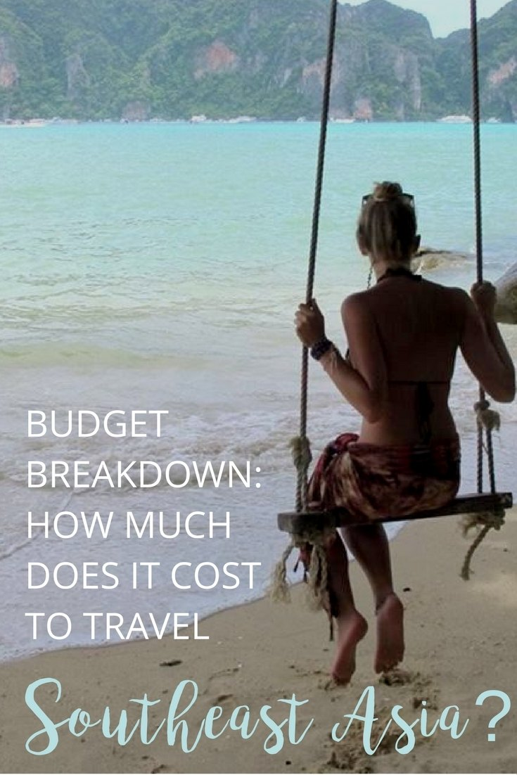 HOW MUCH does it cost to travel southeast asia