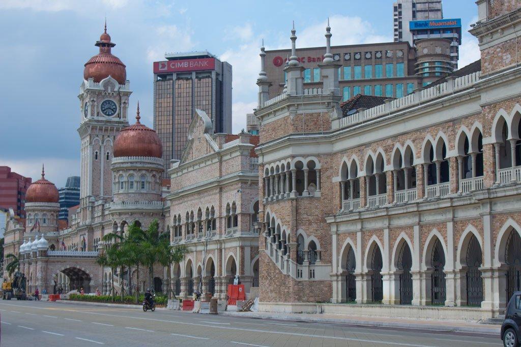 Merdeka Square in KL - travel expenses in southeast asia