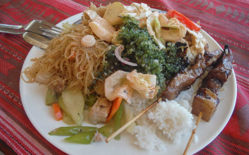 Street food can be delicious in the Philippines - - travel expenses in southeast asia