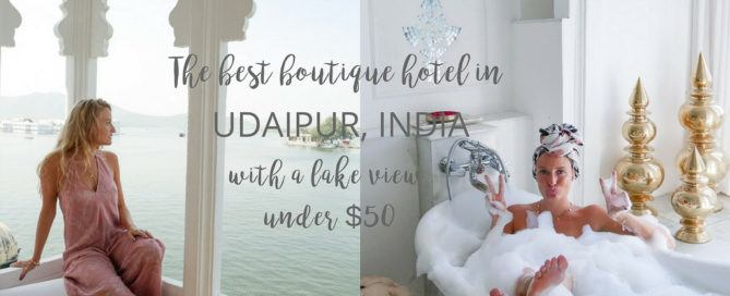 Best Boutique Hotel in Udaipur with Lake Views