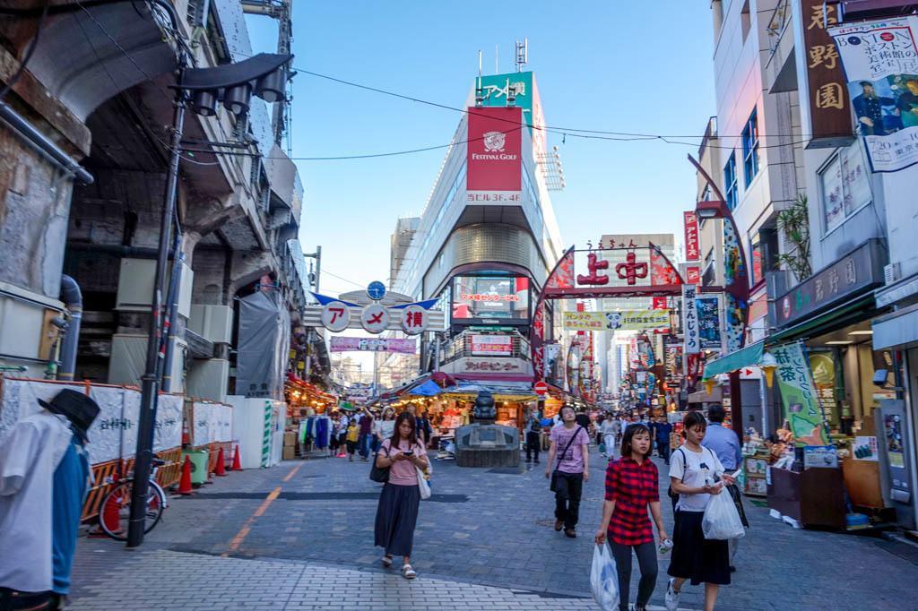 Ameyoko Shopping Street Taito Tokyo