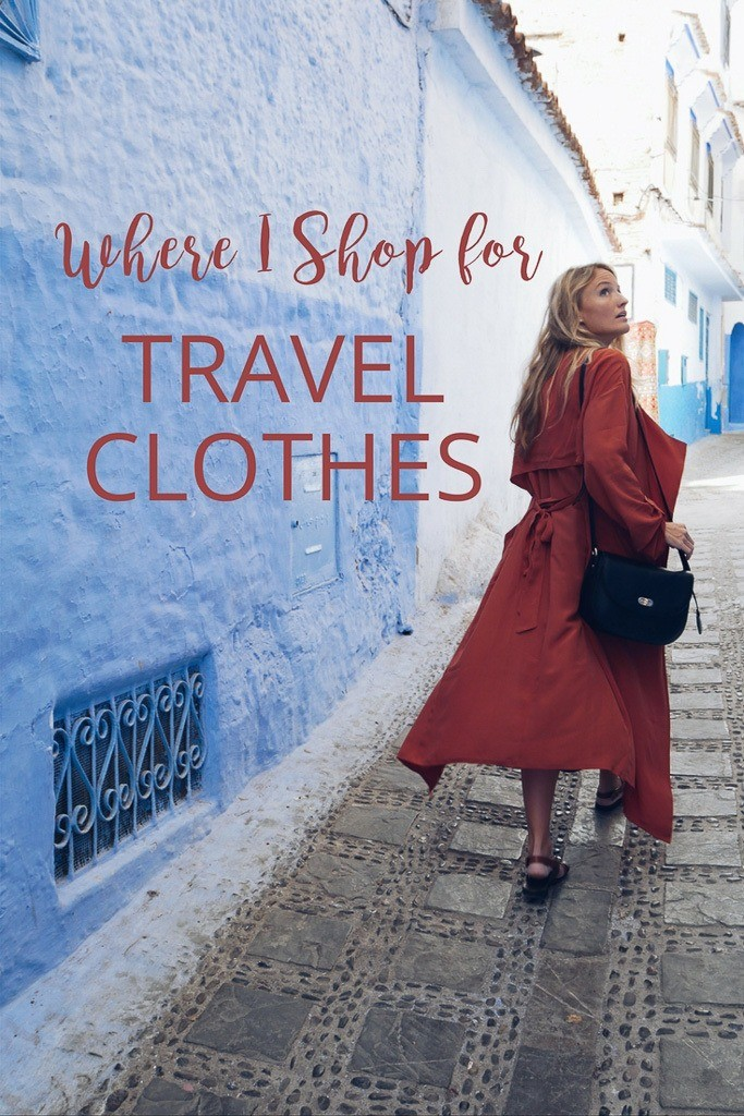 Where do I shop for my travel clothes