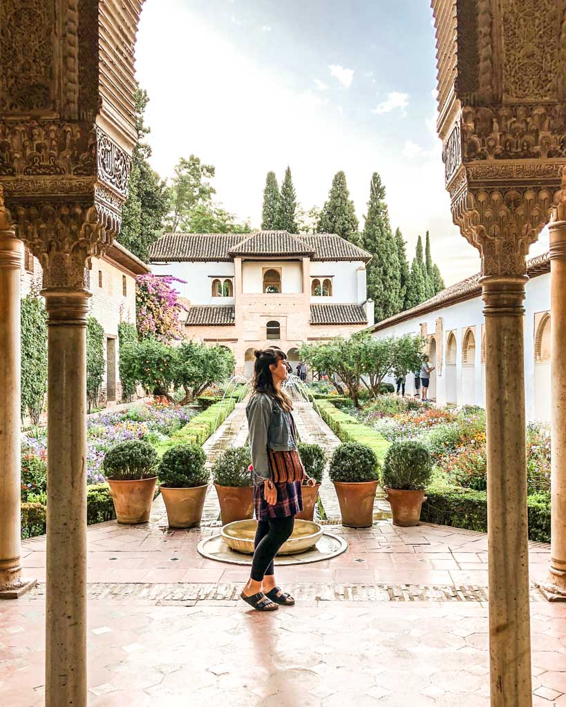 visiting the alhambra spain