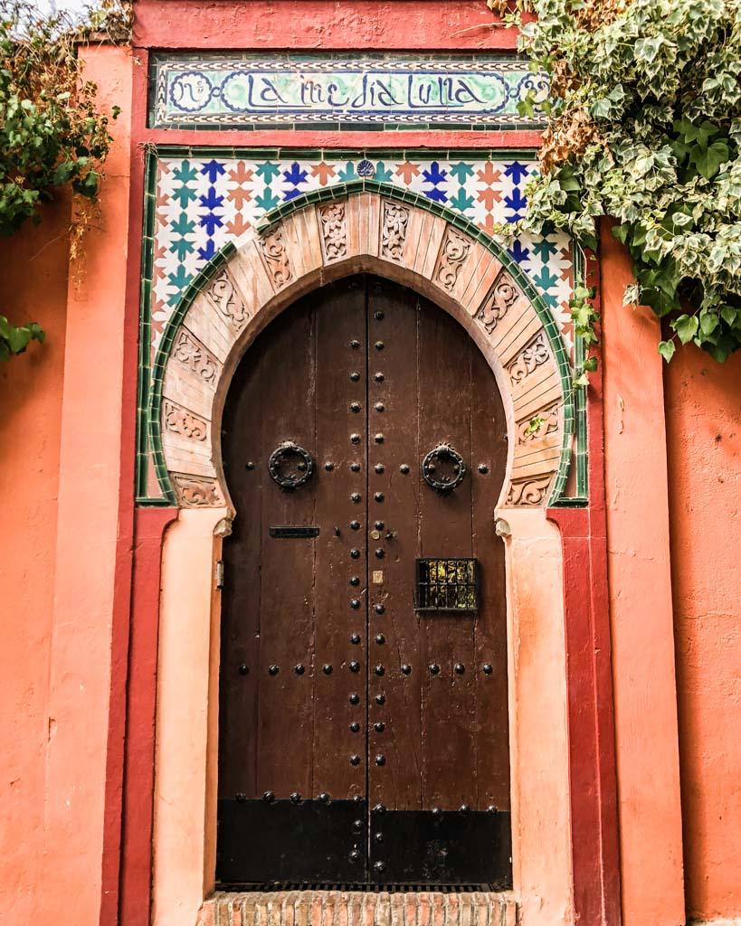 door of granada spain