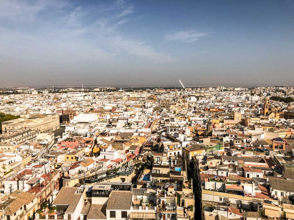 view from the torre giralda