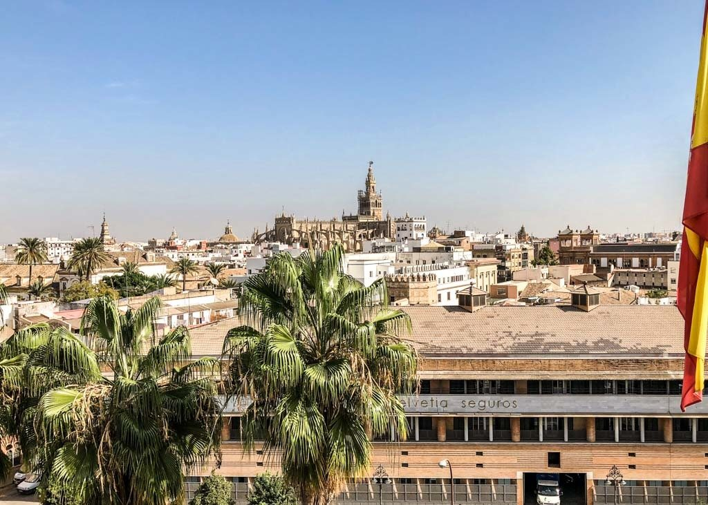 view from the torre de oro seville