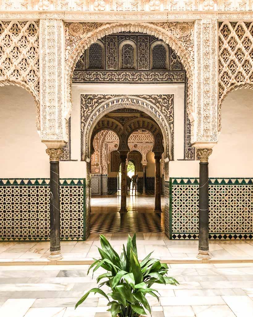 the alcazar seville spain