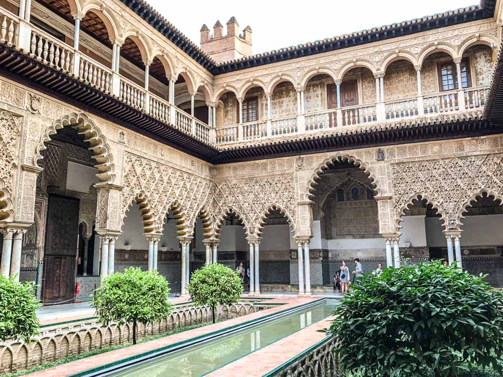 alcazar spain seville andalucia