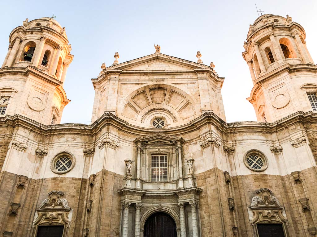 cathedral cadiz spain andalucia