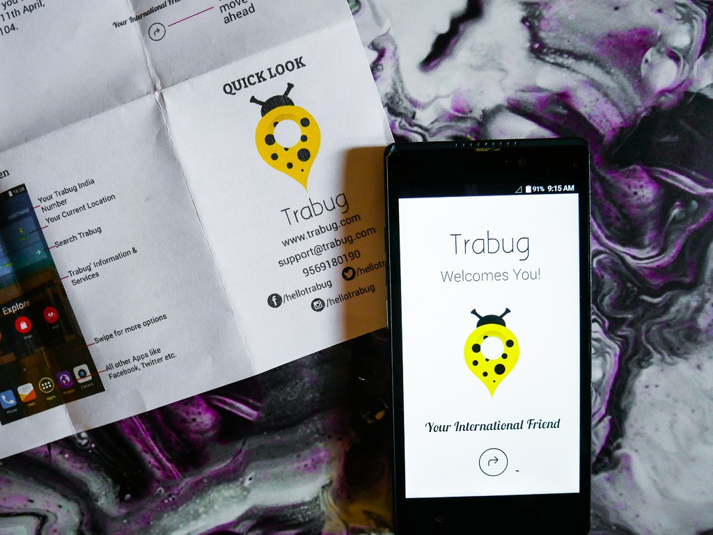 How Trabug Works: A Phone for Travelers in India & an easier way to get a travel sim card in India