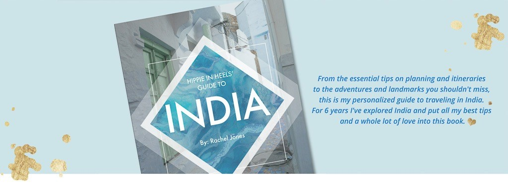 Hippie in Heels' Guide to India Ebook