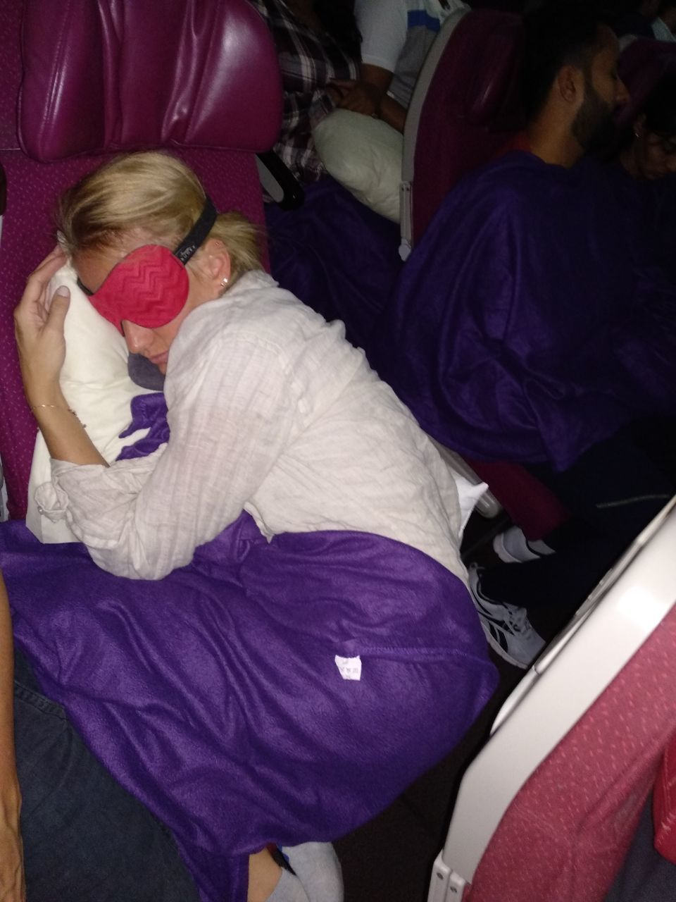 how to deal with long haul flights
