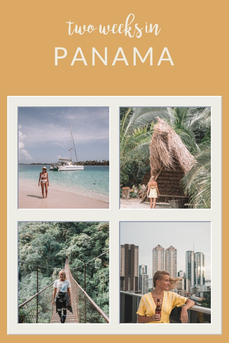Panama itinerary for two weeks