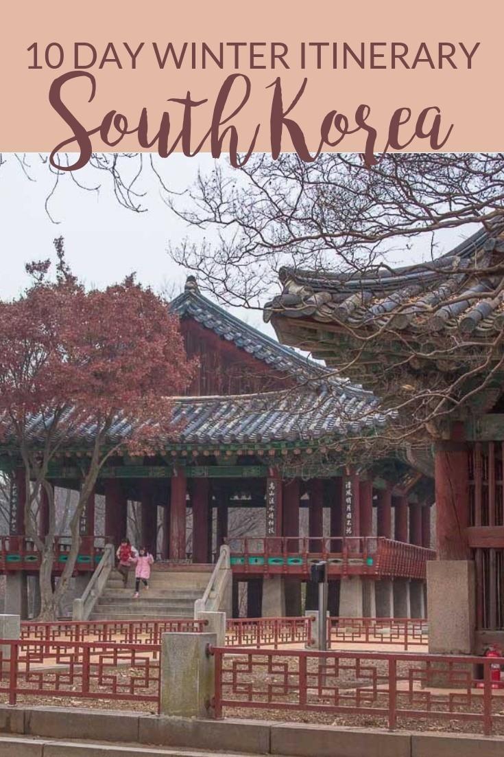 A 10-Day South Korea Winter Itinerary