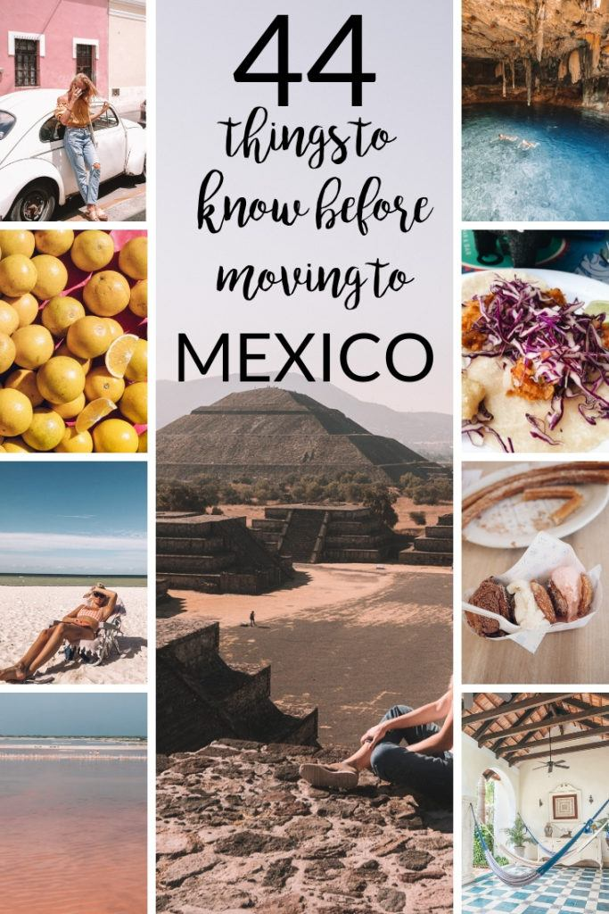 TK things to know before living in Mexico