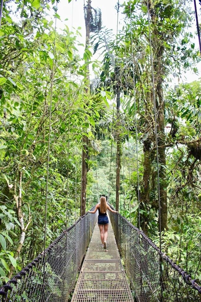 Costa Rica Travel Tips: Mystico Hanging Bridges