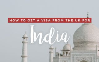 How to Get an Indian Visa from the UK