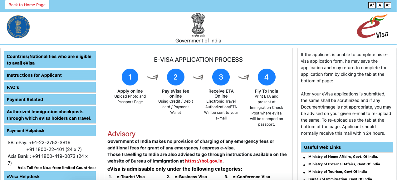How To Get A Tourist Visa For India The Easy Way An India E Tourist Visa Application Guide Hippie In Heels