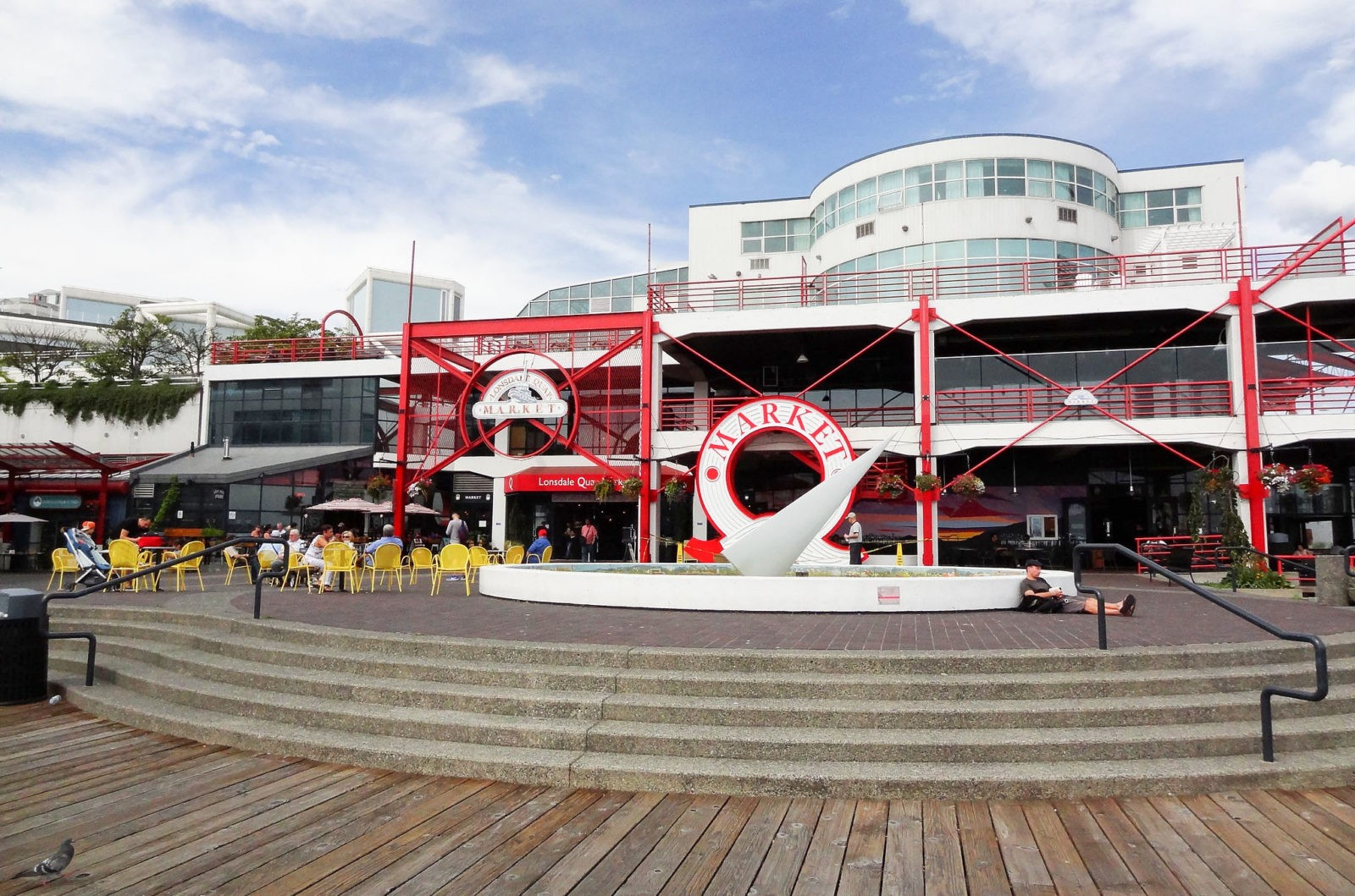 Lonsdale Quay, North Vancouver, Canada