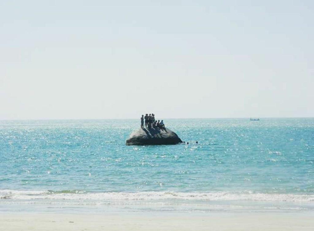 Palolem Rock, Goa, India