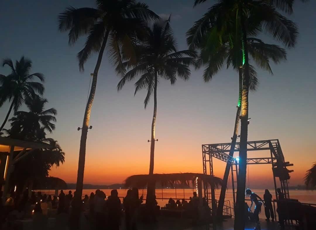 Thalassa Sunset, Goa, India