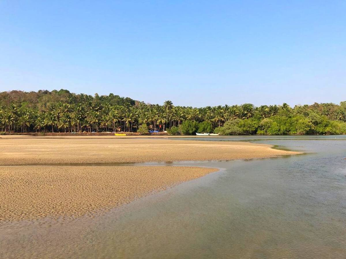 Walk on Agonda Beach, India