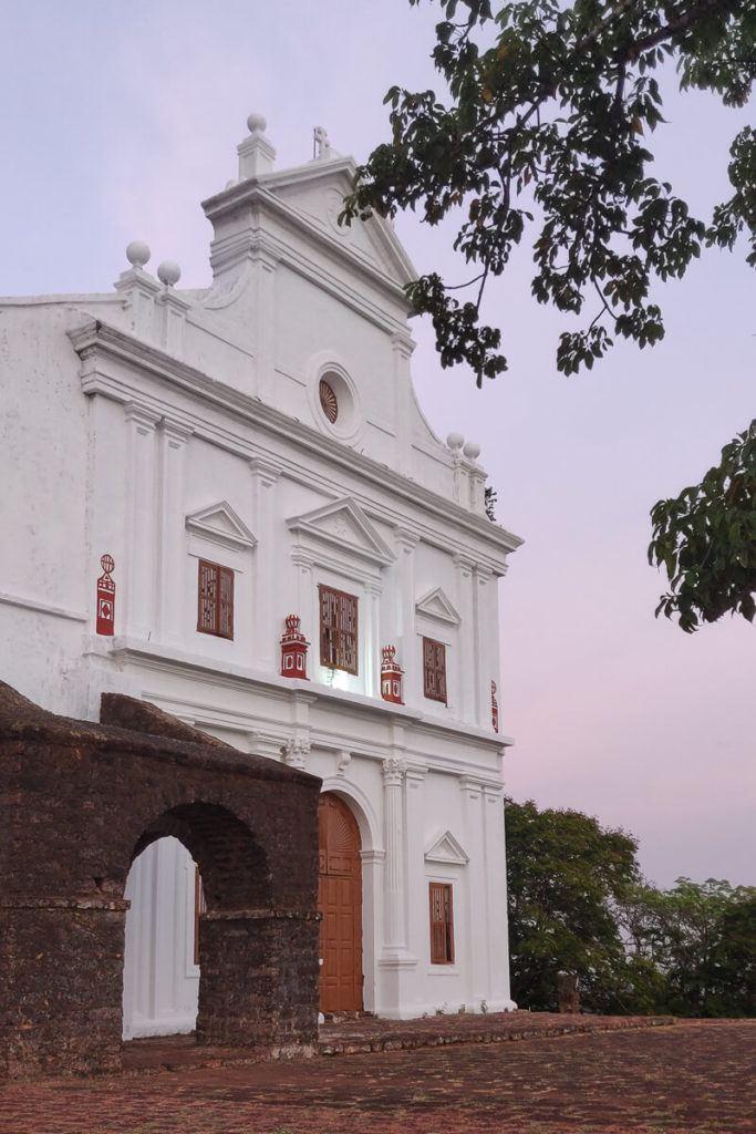 Chapel of Mount, Old Goa, India