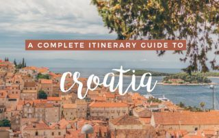 A Croatia Itinerary Guide