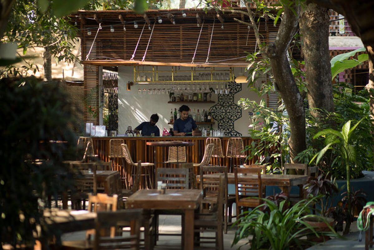 Jaali Cafe,Patnem Beach, South Goa, India