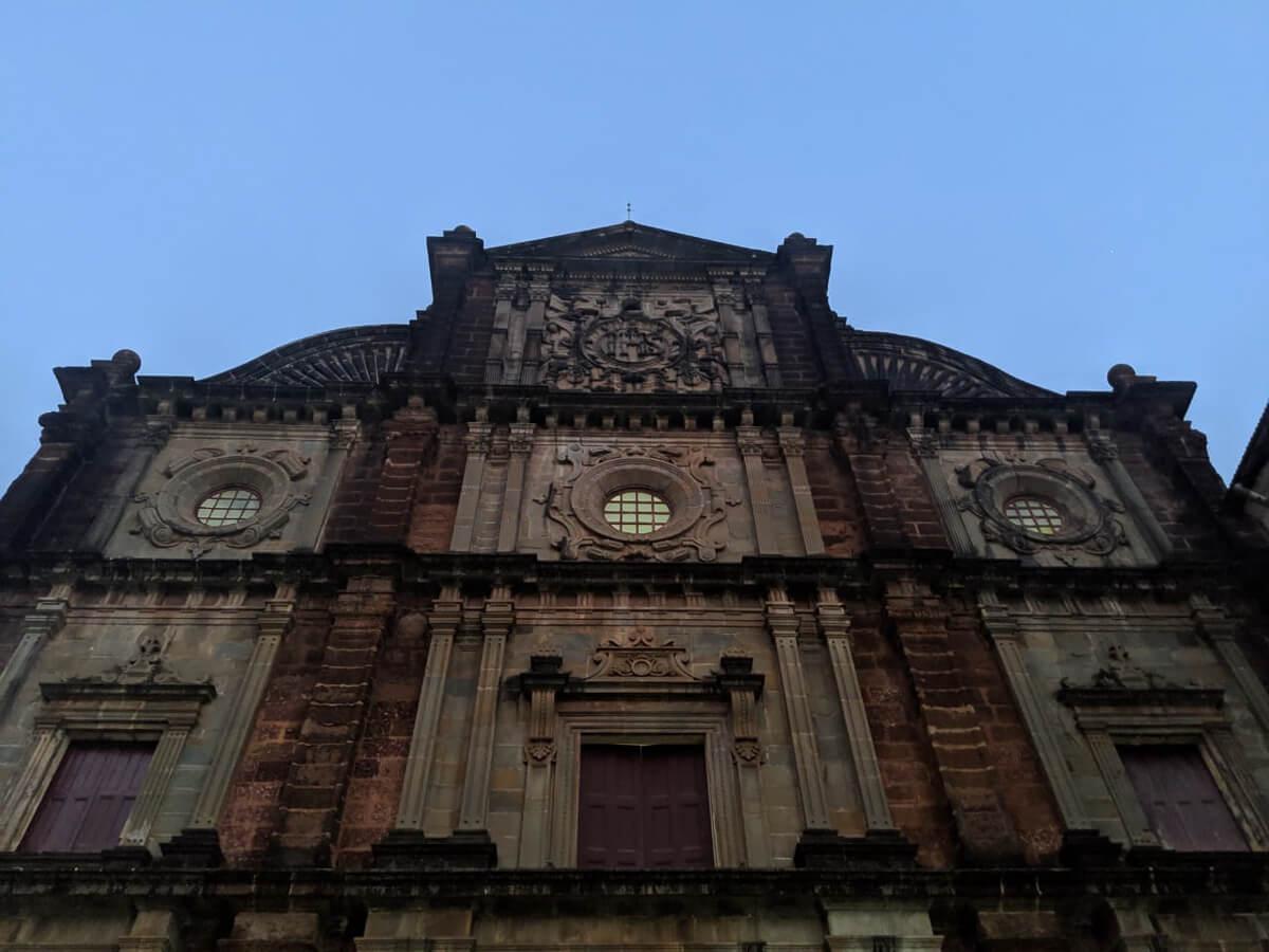 Basilica Bom Jesus, Old Goa, India