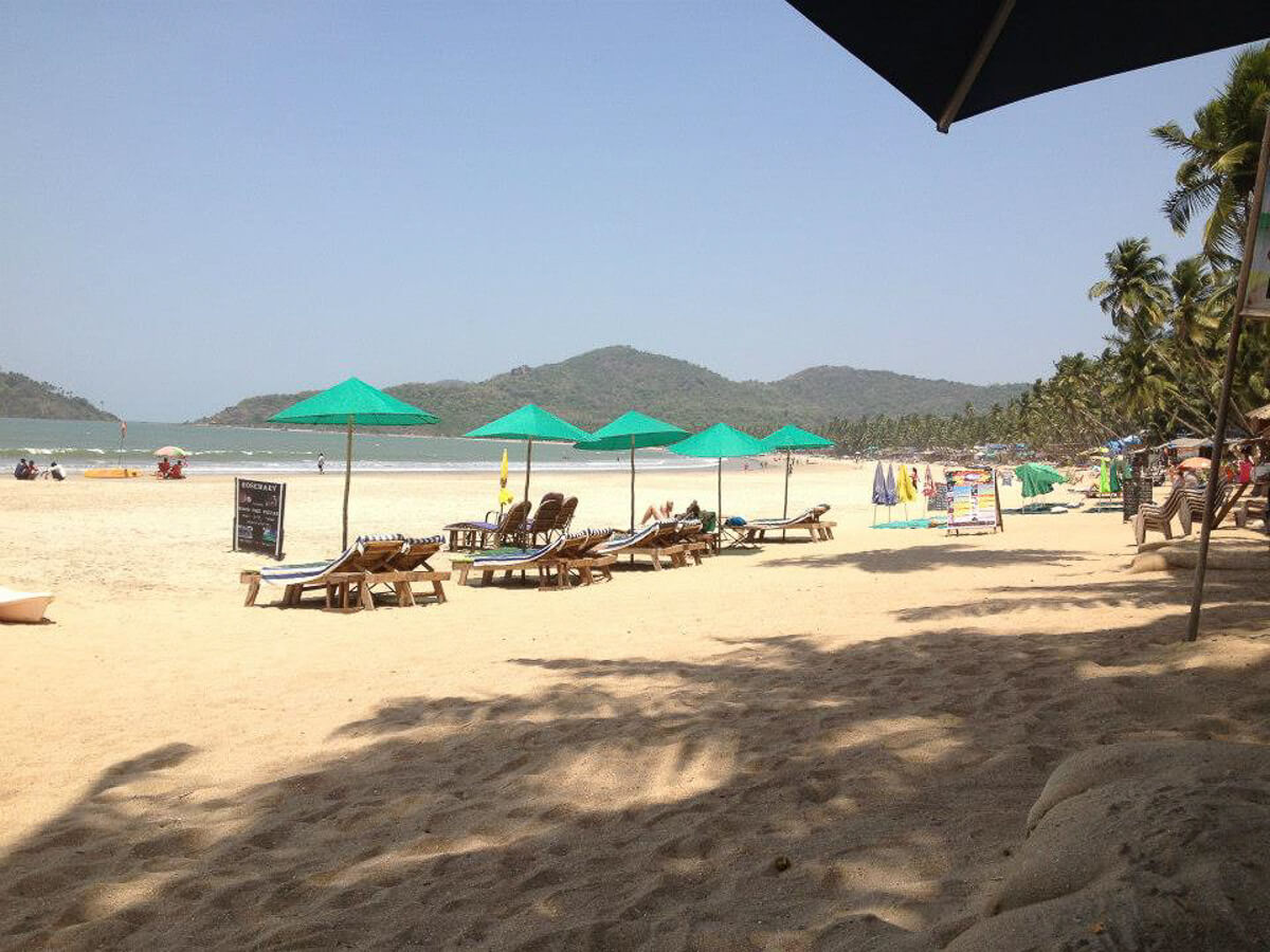 Patnem Beach, South Goa, India