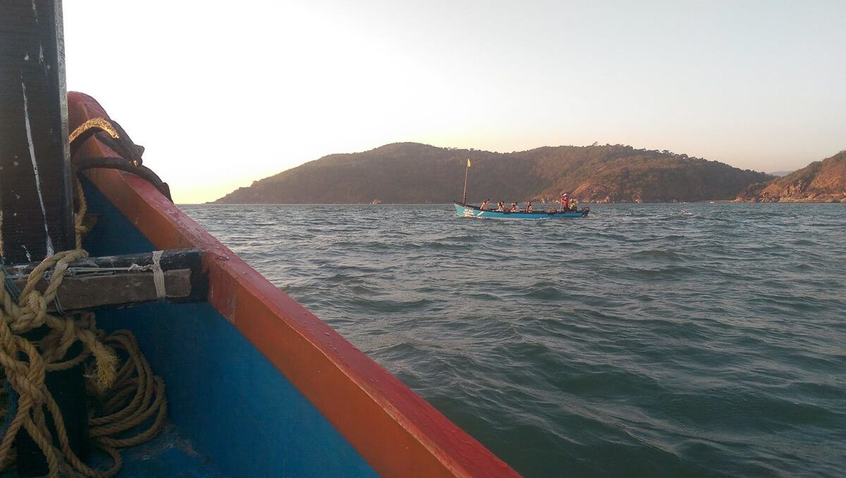 Palolem Boat Trip, Patnem Beach, South Goa, India