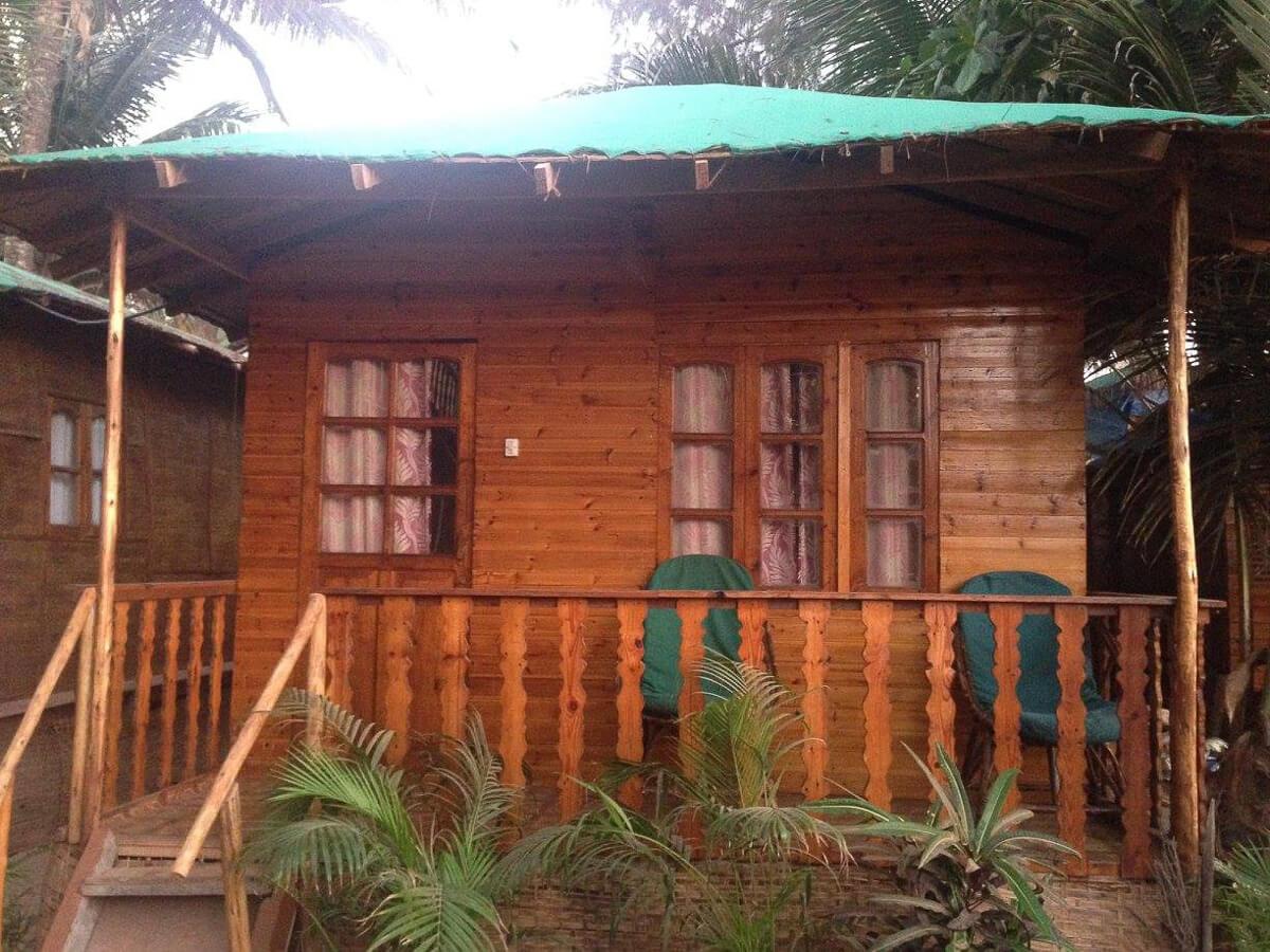 Beach Hut, Patnem Beach, South Goa, India