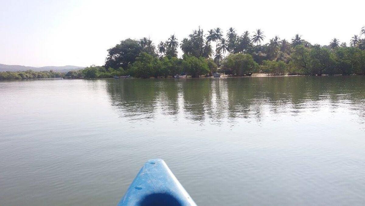 Patnem Beach River, South Goa, India