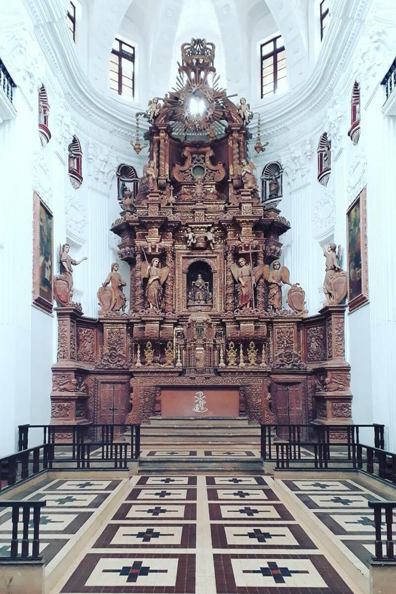 St. Cajetan Church, Old Goa, India