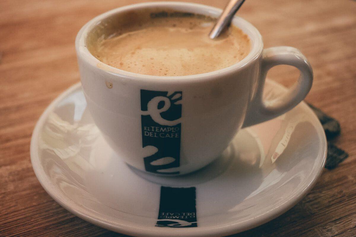 Coffee in in Tenerife, Spain
