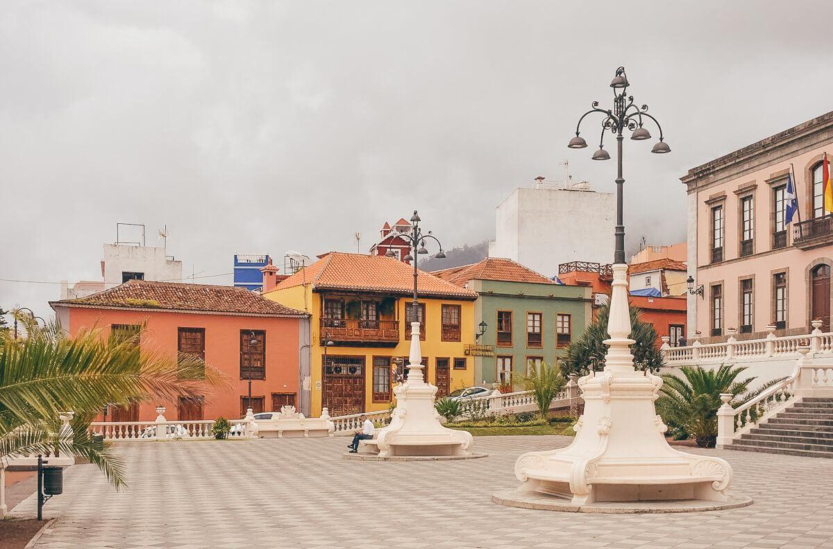 La Orotava in Tenerife, Spain