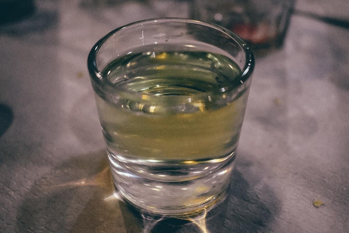 Local Liquor in Tenerife, Spain