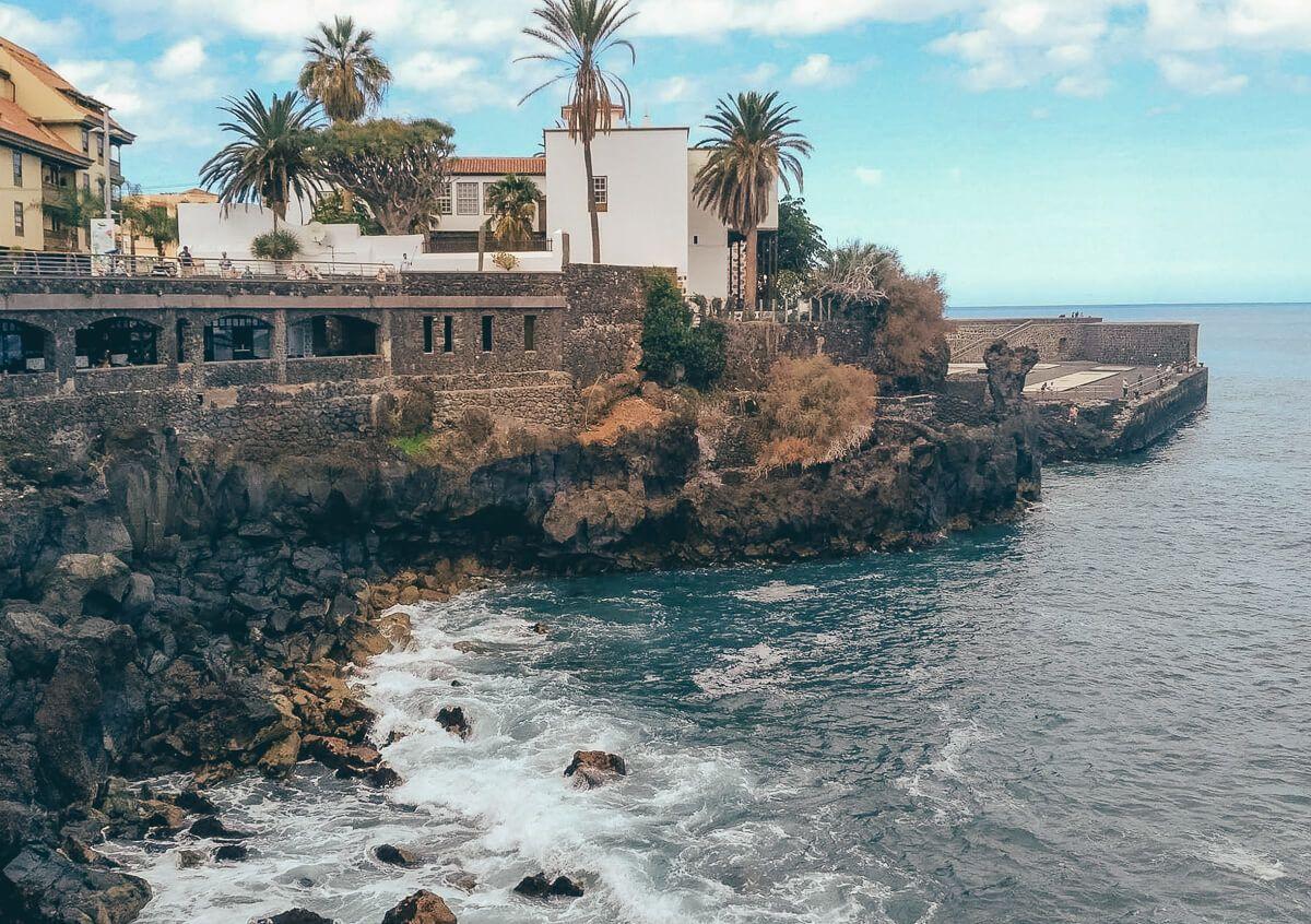 Puerto de la Cruz in Tenerife, Spain