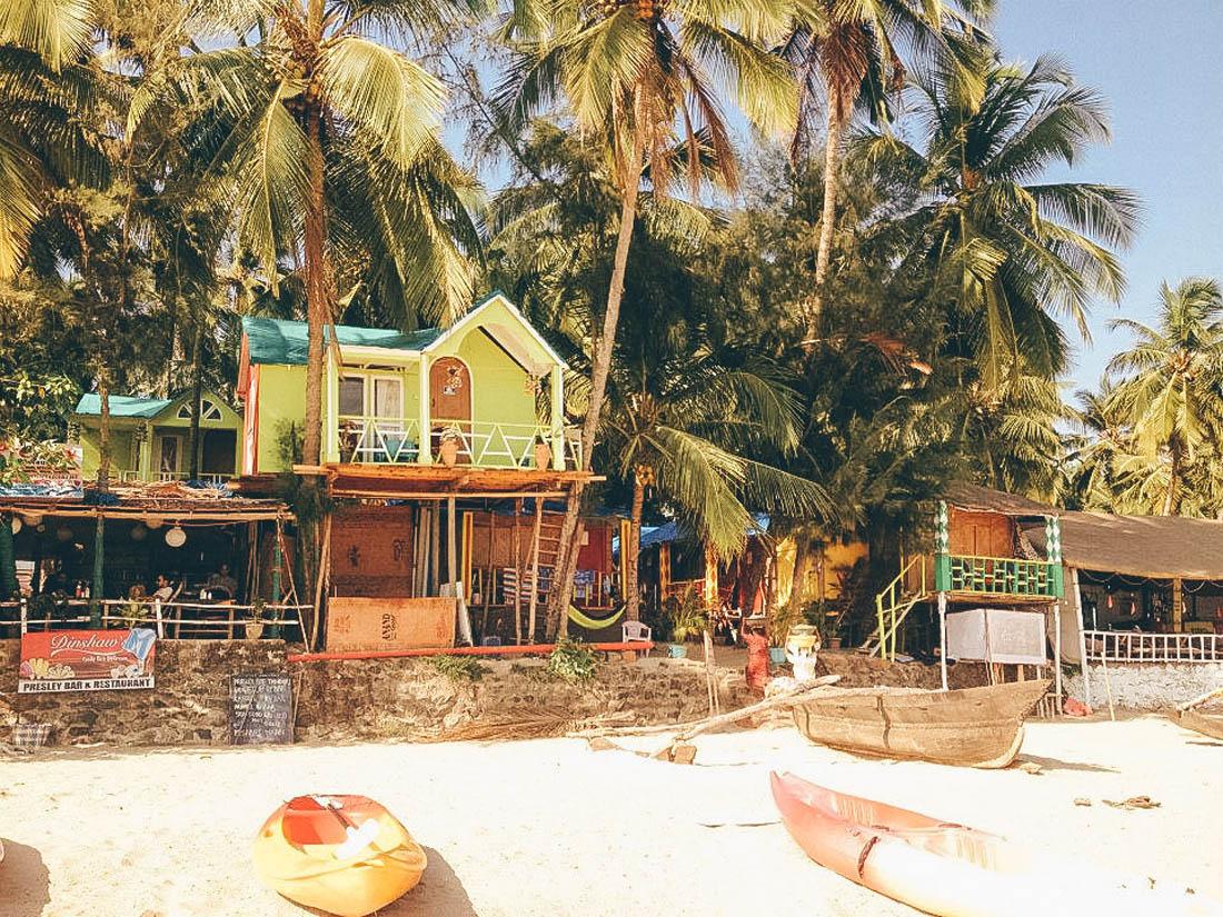 Palolem Beach Huts, Goa, India