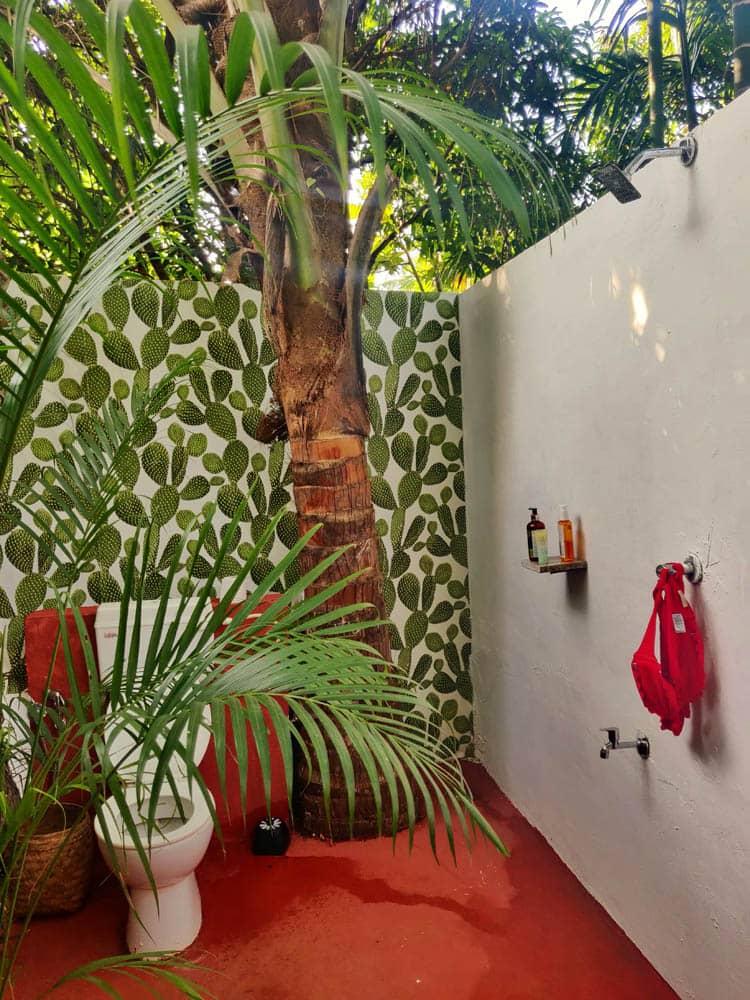 Bathroom at Wigwam, Goa