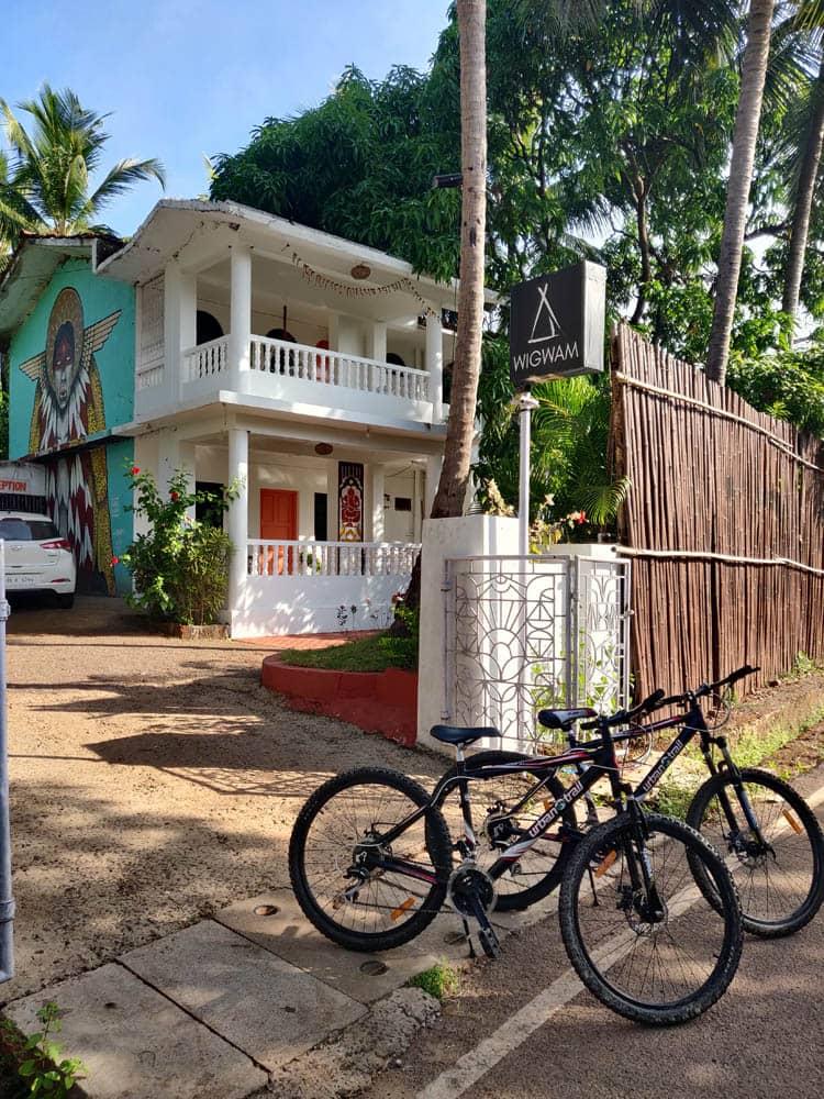Bike Ride at Wigwam, Goa